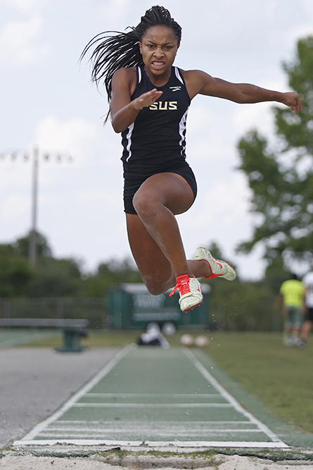 Adrianna Mitchell, Florida High – Girls Field All-Big Bend Athlete of the Year.