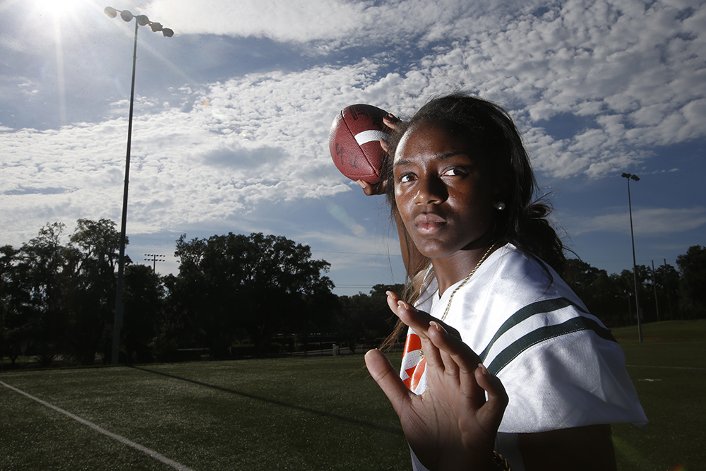 Raygene Garner, FAMU DRS – All-Big Bend flag football Athlete of the year.