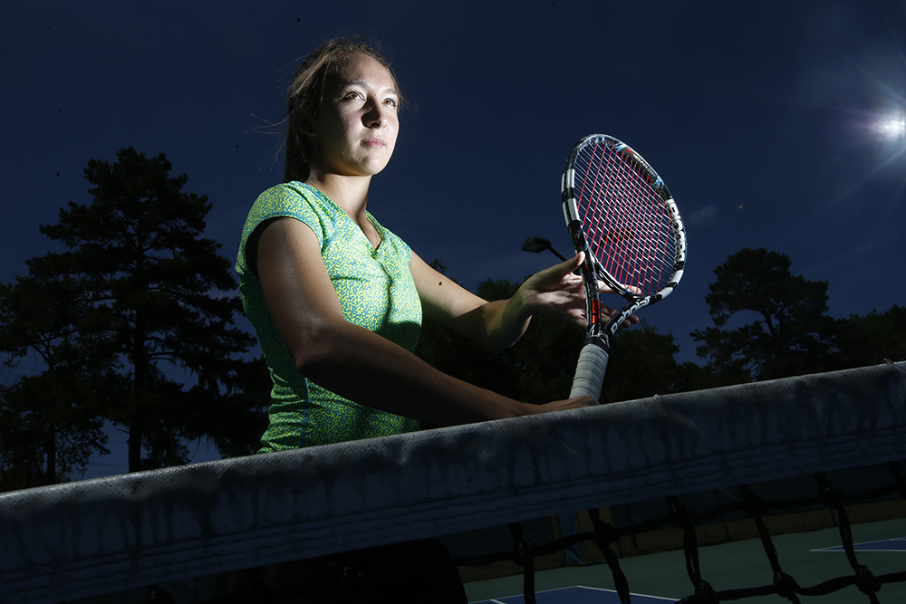 Paige Nicholson, Lincoln – Girls All-Big Bend Tennis Athlete of the Year.